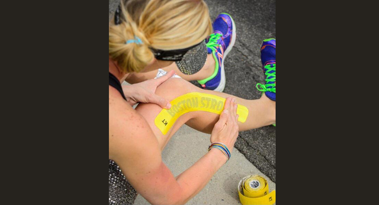 KT Tape at the Boston Marathon