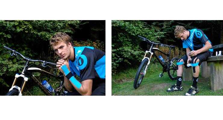 Mountain Biker Olie Burton